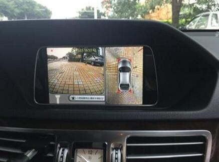 科技感在哪? 为何车内倒车影像像素那么低