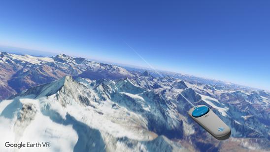 谷歌地球VR版本面世_足不出户环游世界