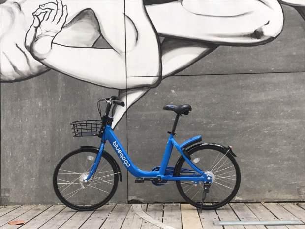 共享单车大战升级 野兽骑行小蓝单车入驻深圳