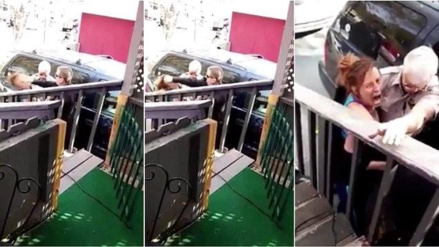 震惊!美国一警察拳击女嫌疑犯脸部被停职