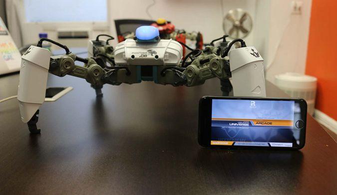 游戏机过时了 AR游戏对战机器人上市