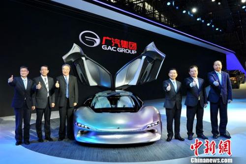 广汽传祺全系亮相广州车展 En-Light概念车全球首发