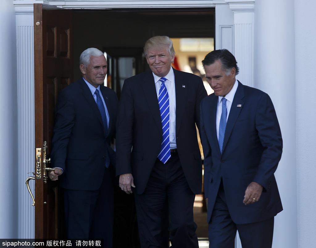 特朗普自家门前宴邀宾客 将召开过渡团队会议