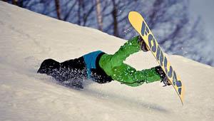 滑雪切勿只图刺激