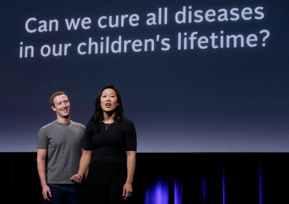 扎克伯格再出售价值9500万美元脸书股份做慈善