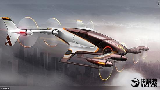 垂直起飞、降落!空客自动驾驶飞行的士明年降临
