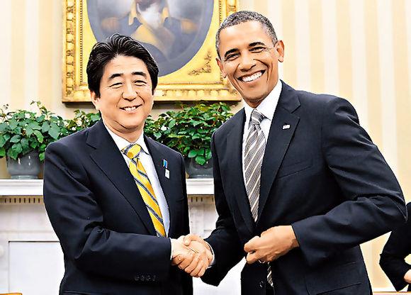 日媒:安倍外交最近很不顺 访美回国不见笑容