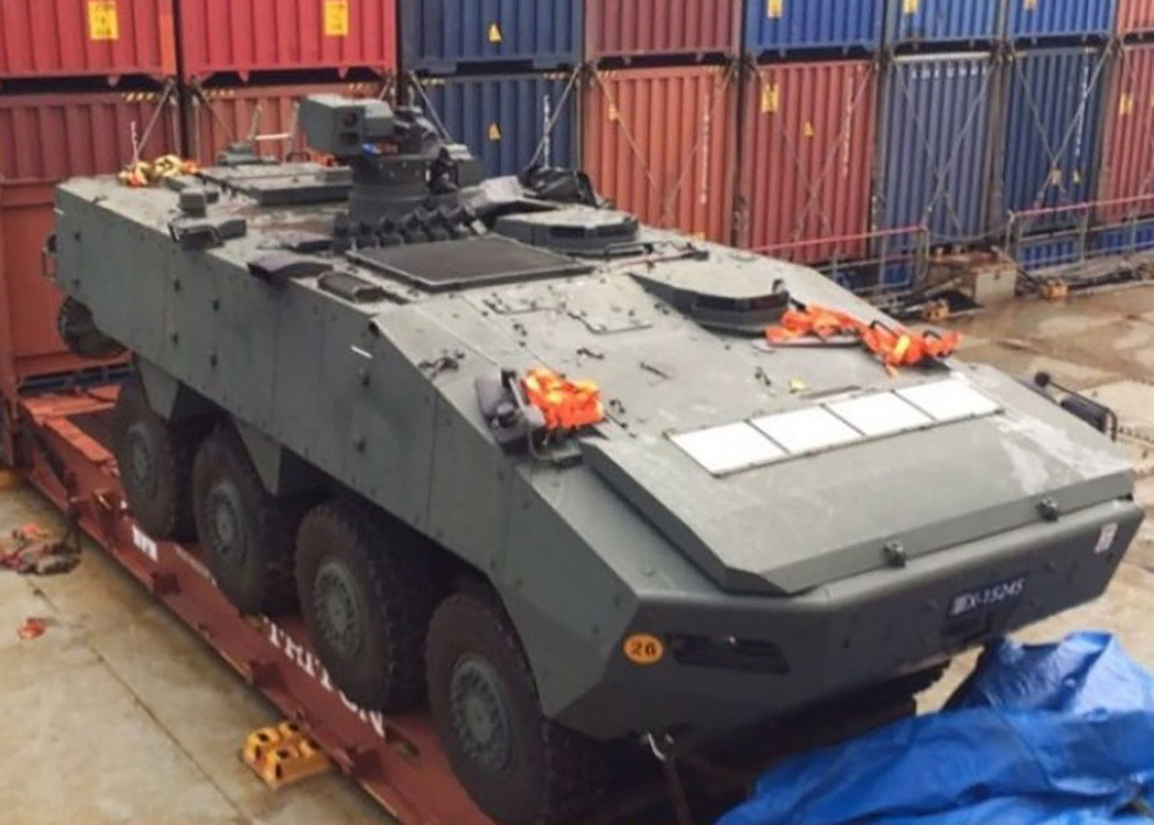 星光部队装甲车整批运离明升m88.com 林郁方质疑双方军事合作生变
