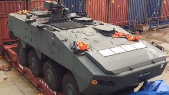 星光部队装甲车整批运离台湾 林郁方质疑双方军事合作生变