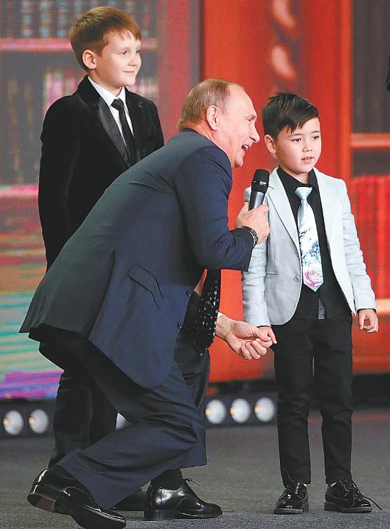 普京笑称俄边界没有尽头 在世界引起轩然大波