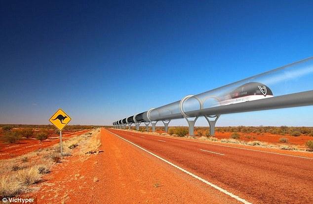 """""""超级高铁""""设计原型曝光 速度高达每小时760英里"""