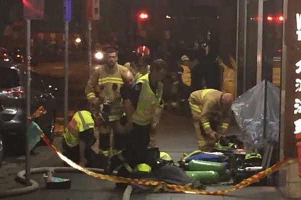 悉尼唐人街发生爆炸10余人受伤 伤者多为华人