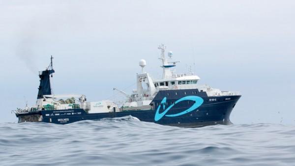 升级后的拖网渔船对鱼类废弃物进行再利用