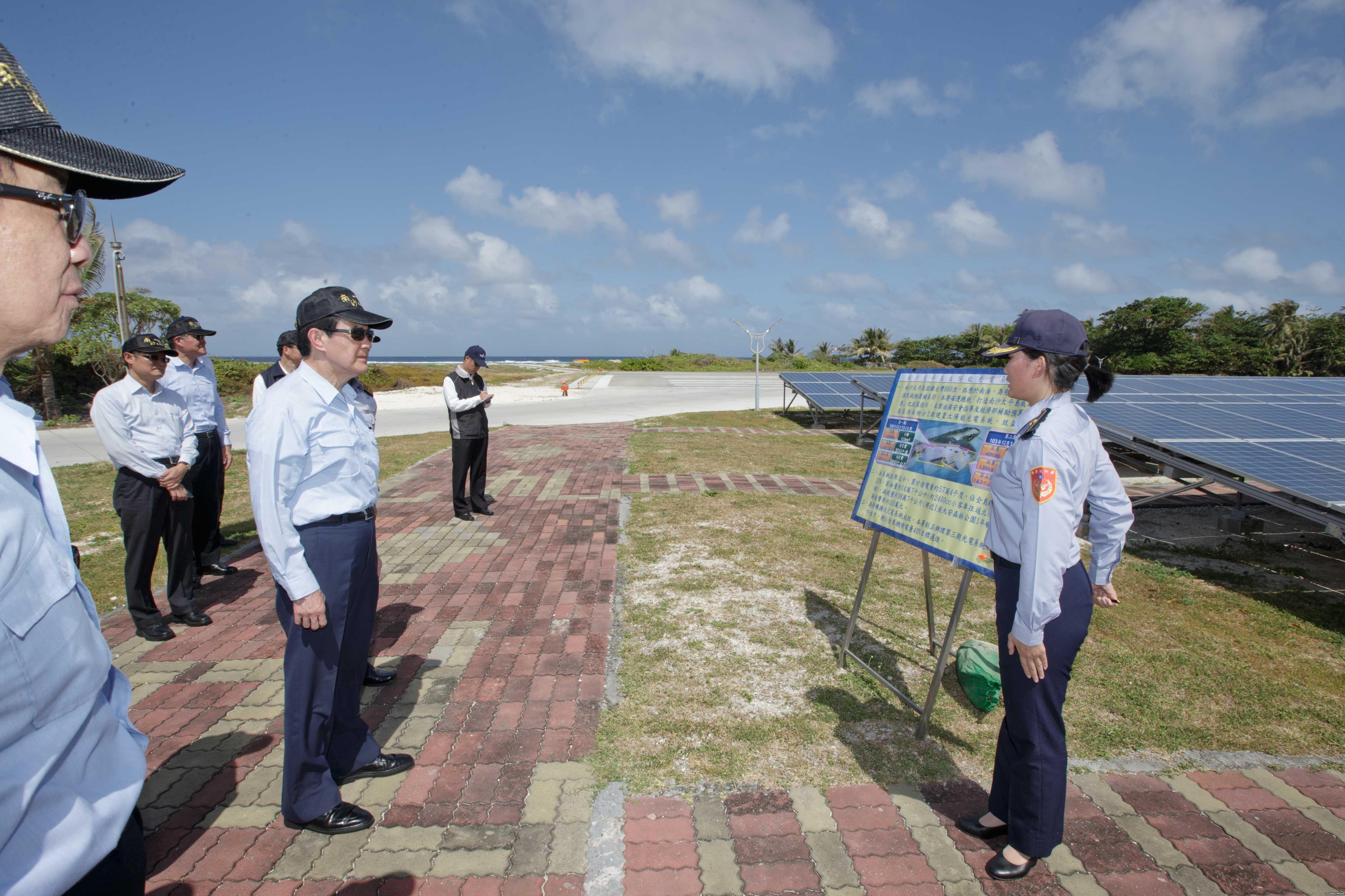 台太平岛演习邀日本媒体登岛 欲将祸水引向大陆
