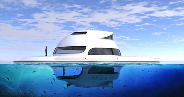 活久见!来看看土豪专用的UFO型豪华游艇