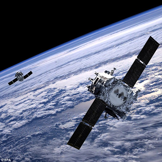 美军方称美国卫星落后中俄