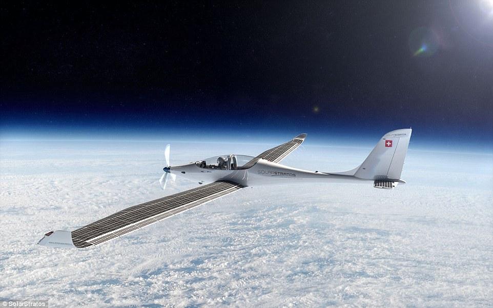 solarstratos太阳能飞机将于2018年飞向太空_科技