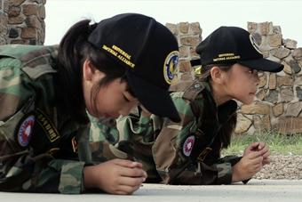 """带你走进中国""""童军训练营"""""""
