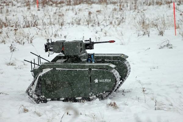 未来或将代替步兵!武装无人车辆完成首次实弹射击