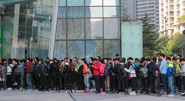 广州第二家苹果零售店开业