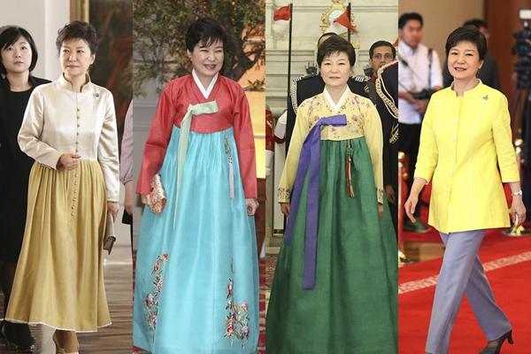 韩媒称朴槿惠就任总统后 购衣费用超7亿韩元