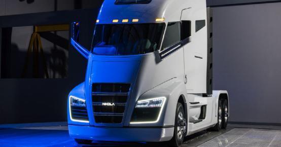 这款氢燃料半挂卡车能从北京开上海一路不充电