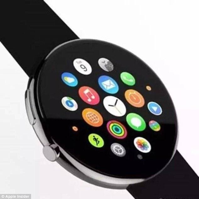 """新款苹果手表或""""整容""""以圆形表盘问世"""