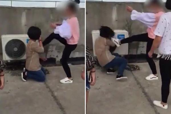 湖北一女生遭多人暴力围殴 全身被击打170多次