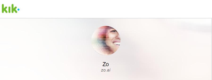 微软测试最新AI机器人Zo