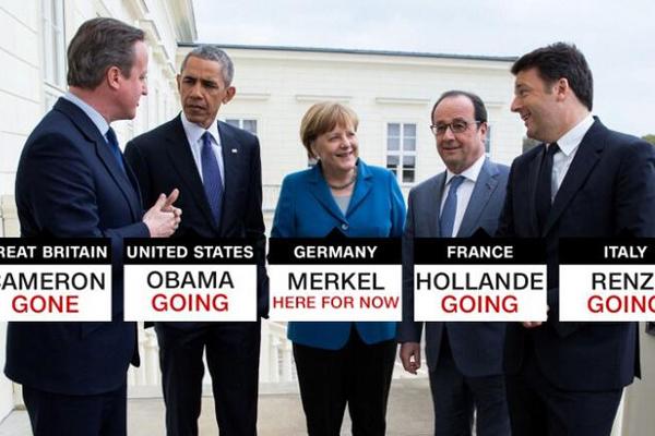 CNN:这张图展示了旧世界秩序的终结........