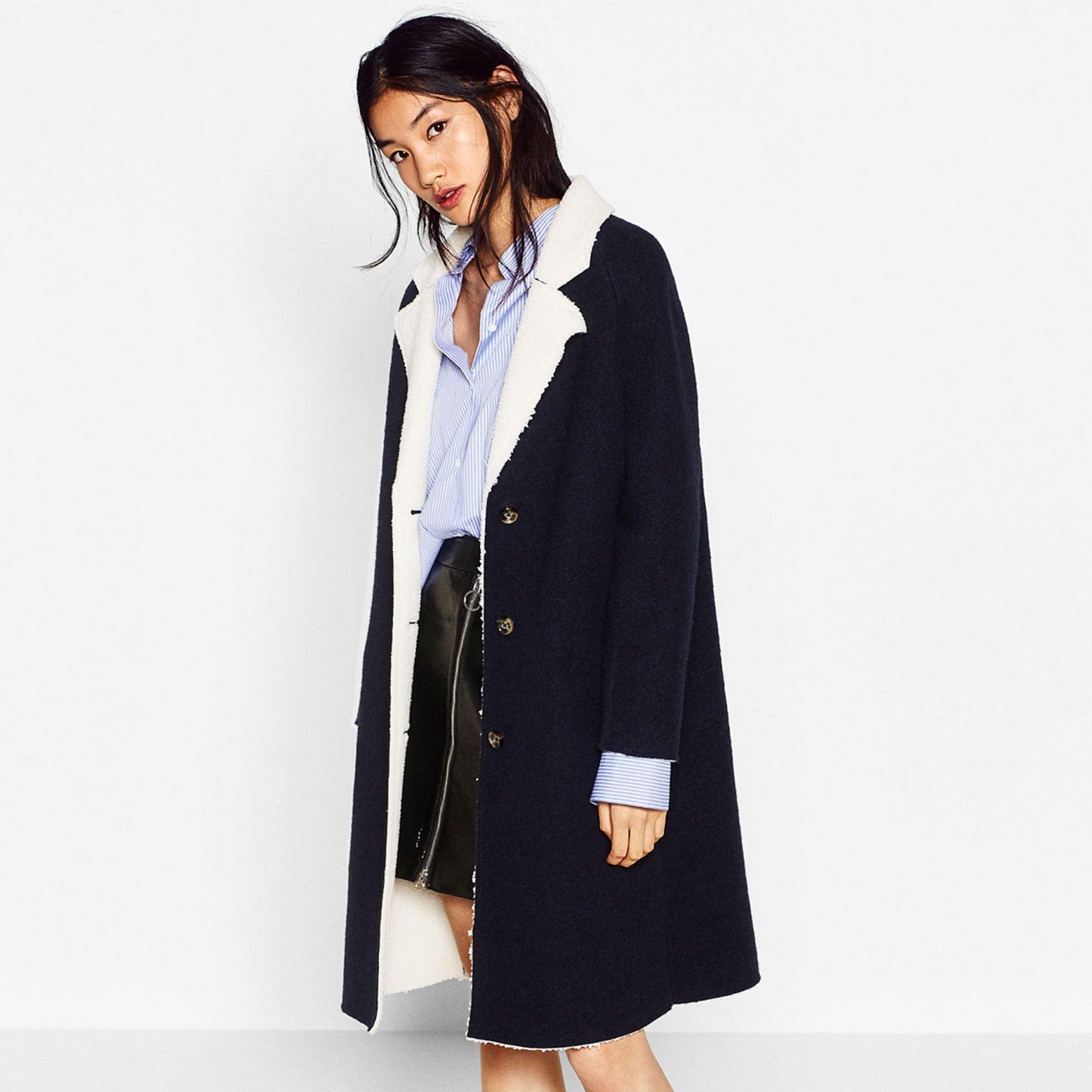 迎合冬季选衣新标准 法媒推荐20款低价保暖时尚大衣