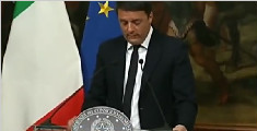 总理伦齐宣布将辞职 工会呼吁尽快大选