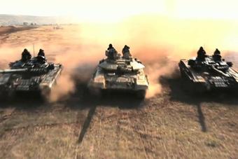 印度发布坦克部队最新宣传片