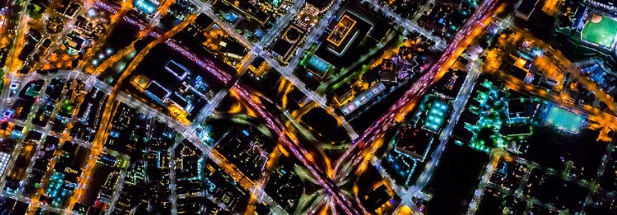 摄影师航拍十大都市夜景