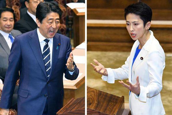 安倍与莲舫两大党首首次在国会进行辩论