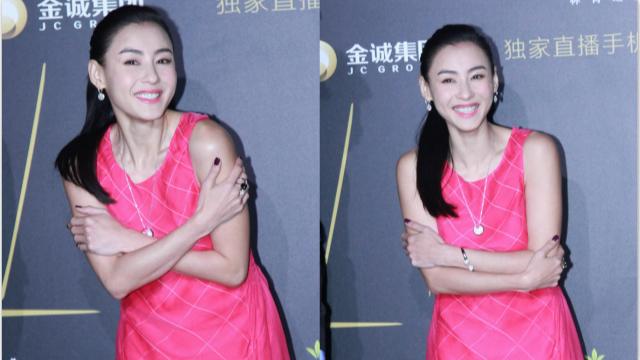 张柏芝获年度最美丽女人
