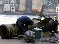 叙利亚疑现俄军战术导弹残骸