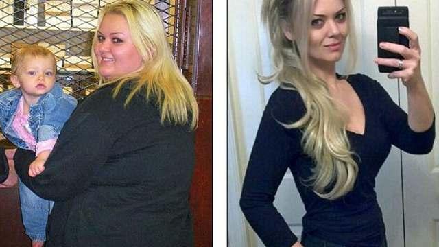女子因肥胖遭前男友嘲笑 甩59公斤变女神