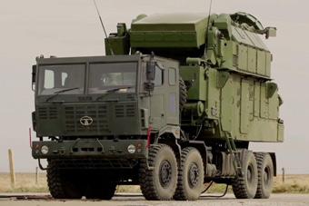 道尔防空导弹还出了轮式底盘?