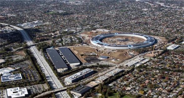 一起看工地:苹果分享新总部Campus 2近景照片