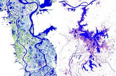 300万张卫星图制成高清地图
