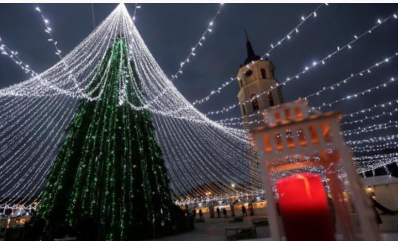 立陶宛的圣诞树