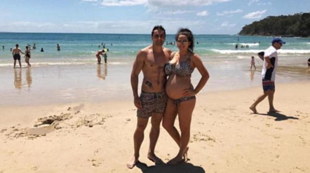 大胸也苦恼 26岁国外孕妈拥有超大罩杯