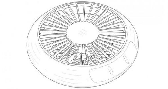 三星无人机专利曝光 看起来像一个小型UFO