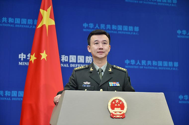 中国国防部新闻发言人吴谦晋升大校军衔