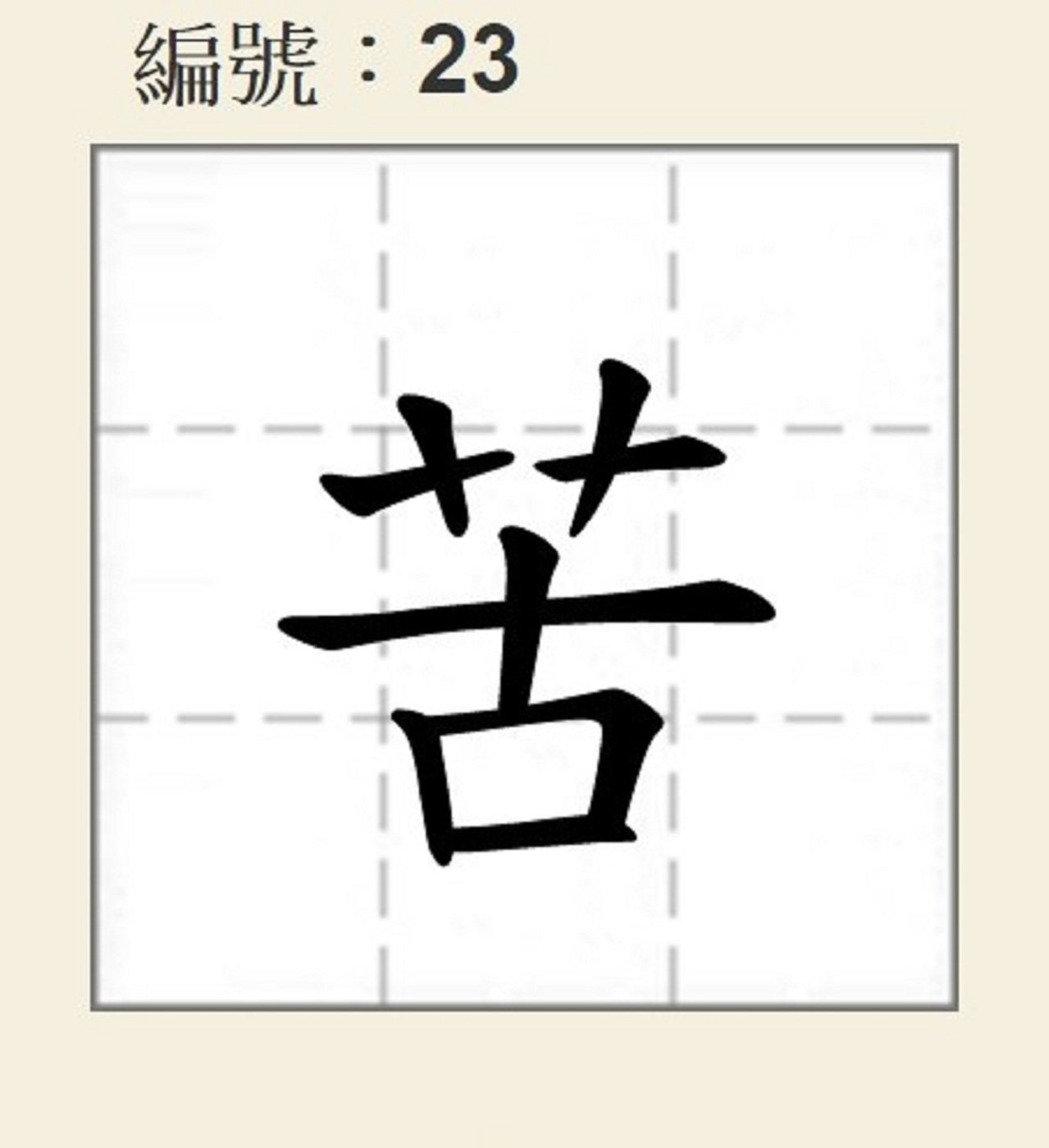 """明升m88.com年度代表字出炉 """"苦""""拔得头筹当选"""