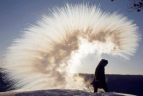 俄极寒地区零下53度学校仍正常上课