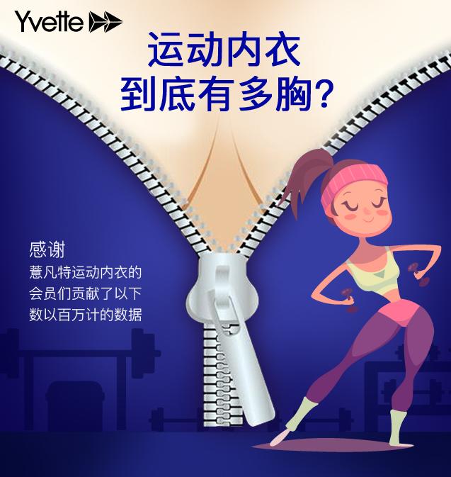 女性运动大搜密:中国女子运动内衣到底有多胸?!
