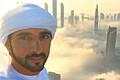 壮观!迪拜王子摩天大楼上拍摄云中城(视频)