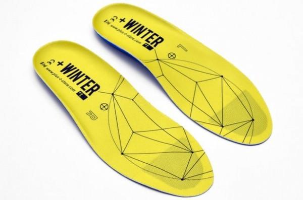 +Winter:能利用手机APP控制的加热鞋垫